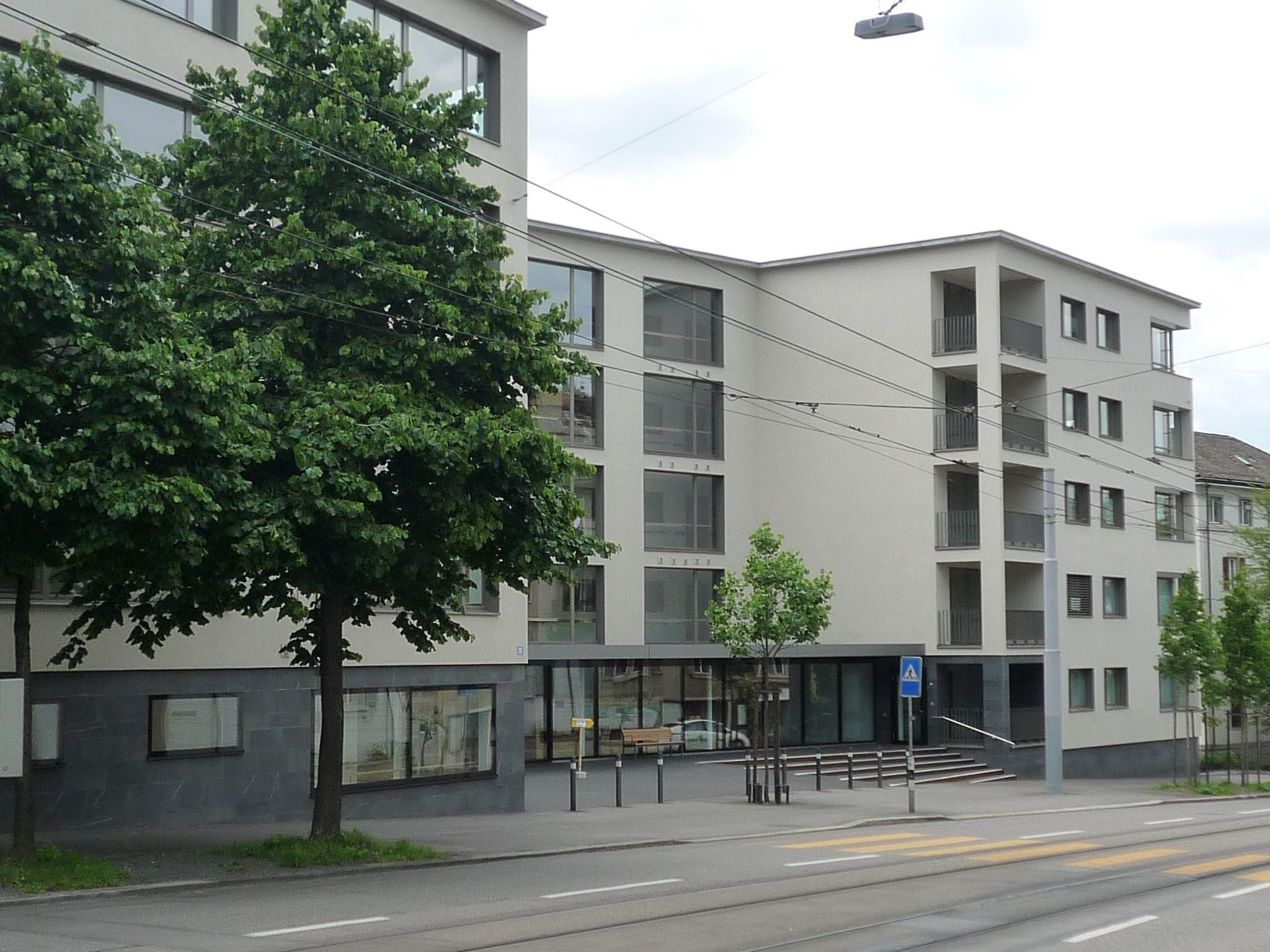 Neubau Schulthesspark, Alterszentrum Hottingen, Zürich