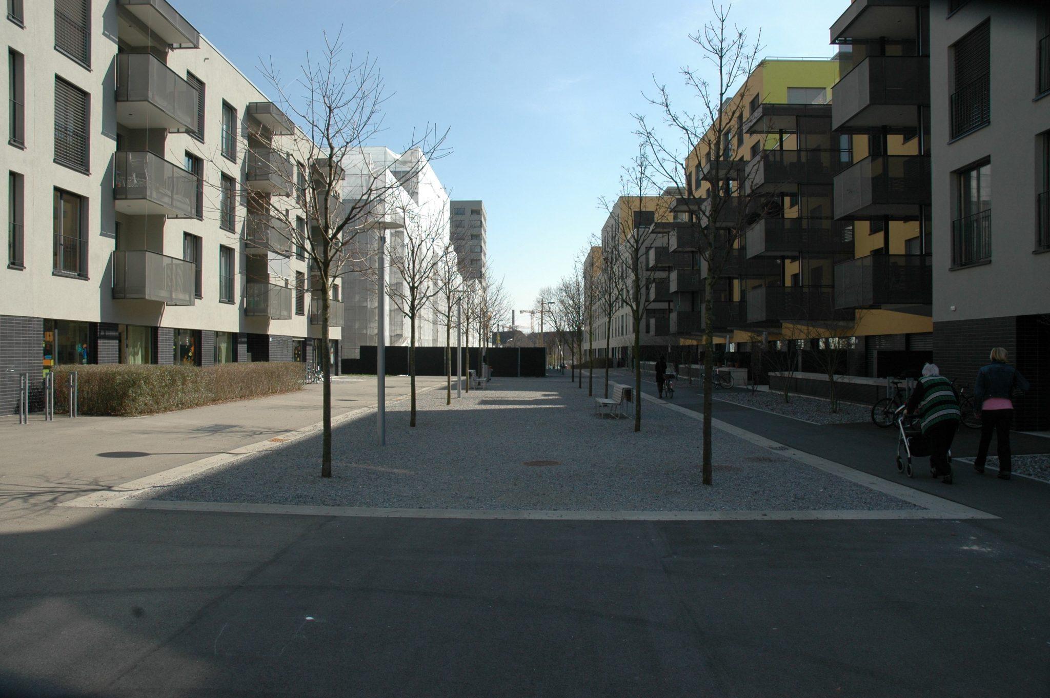 Wohnüberbauung Binzallee 10 – 18, Zürich