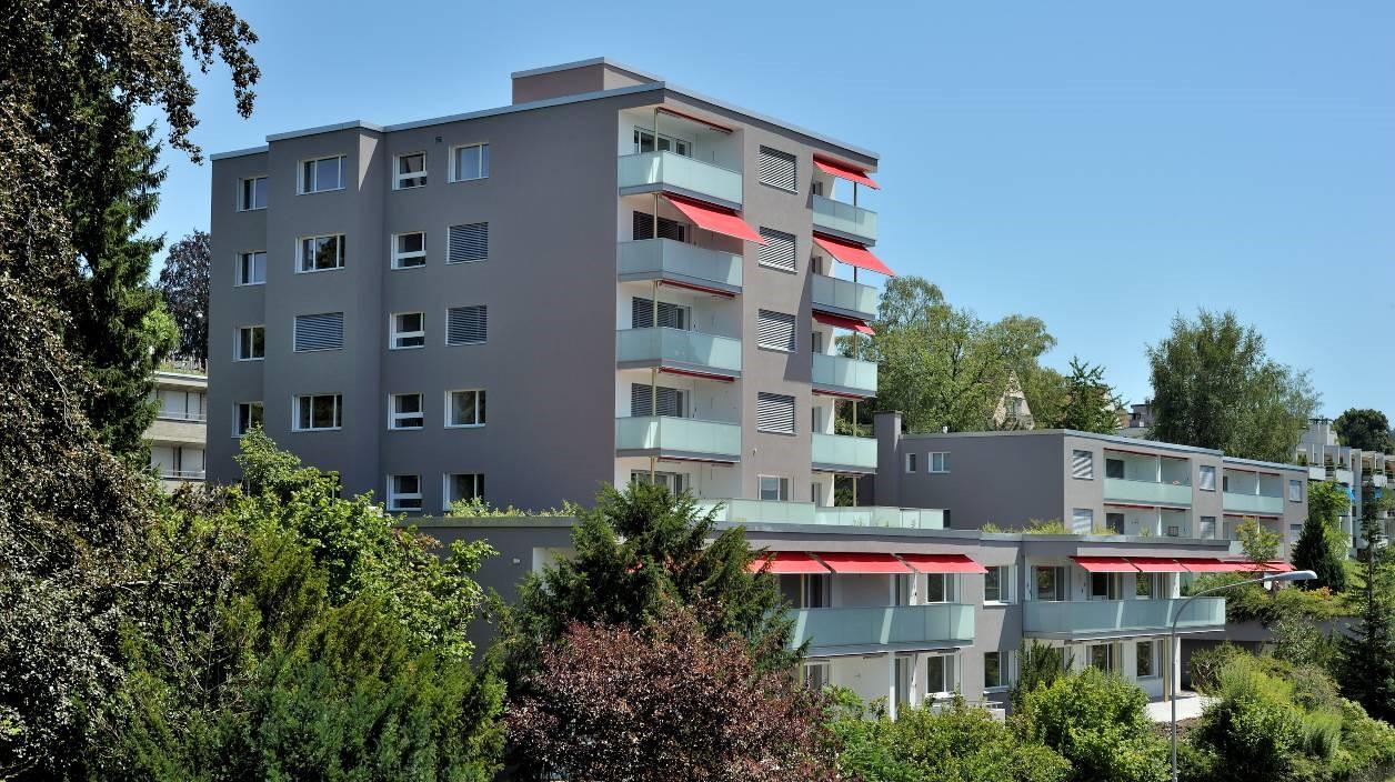 Umbau und Sanierung der Mehrfamilienhäuser der EPI an der Zollikerstrasse 231 bis 237, Zürich