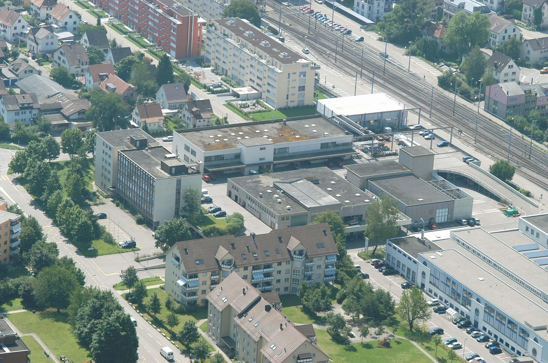 Sanierung und Erweiterung Werkhofareal Uster