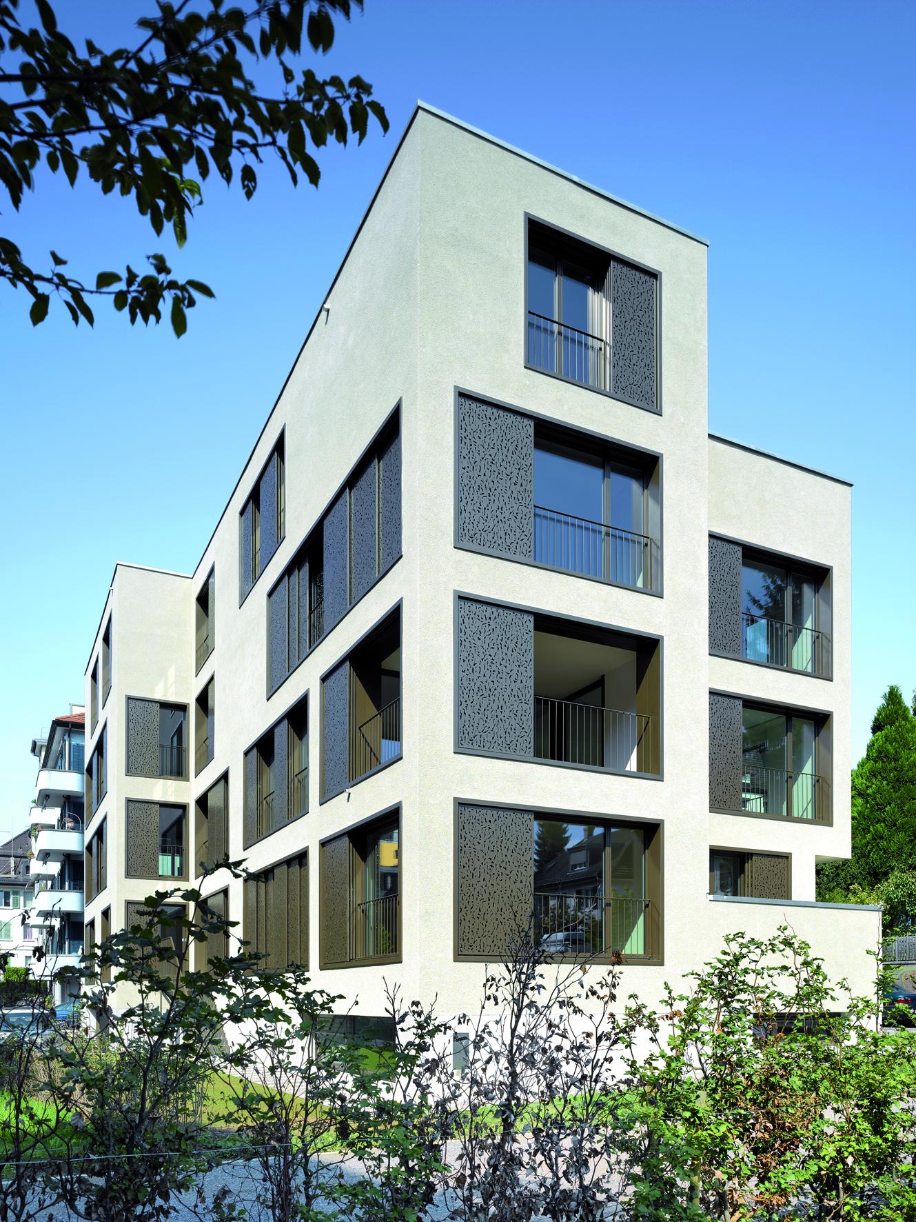 Wohnhaus Haldenstrasse 43, Zürich