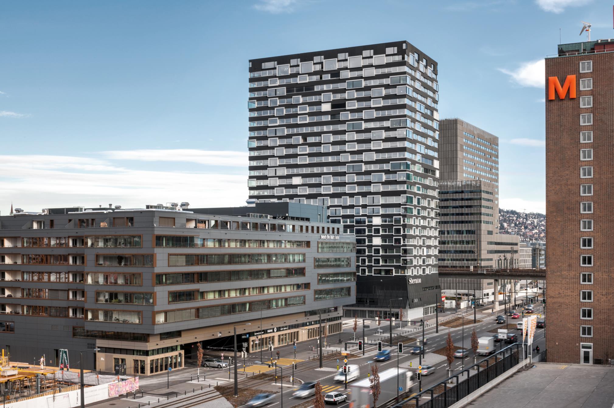 """Wohnhochhaus """"Hard Turm Park"""", Zürich"""