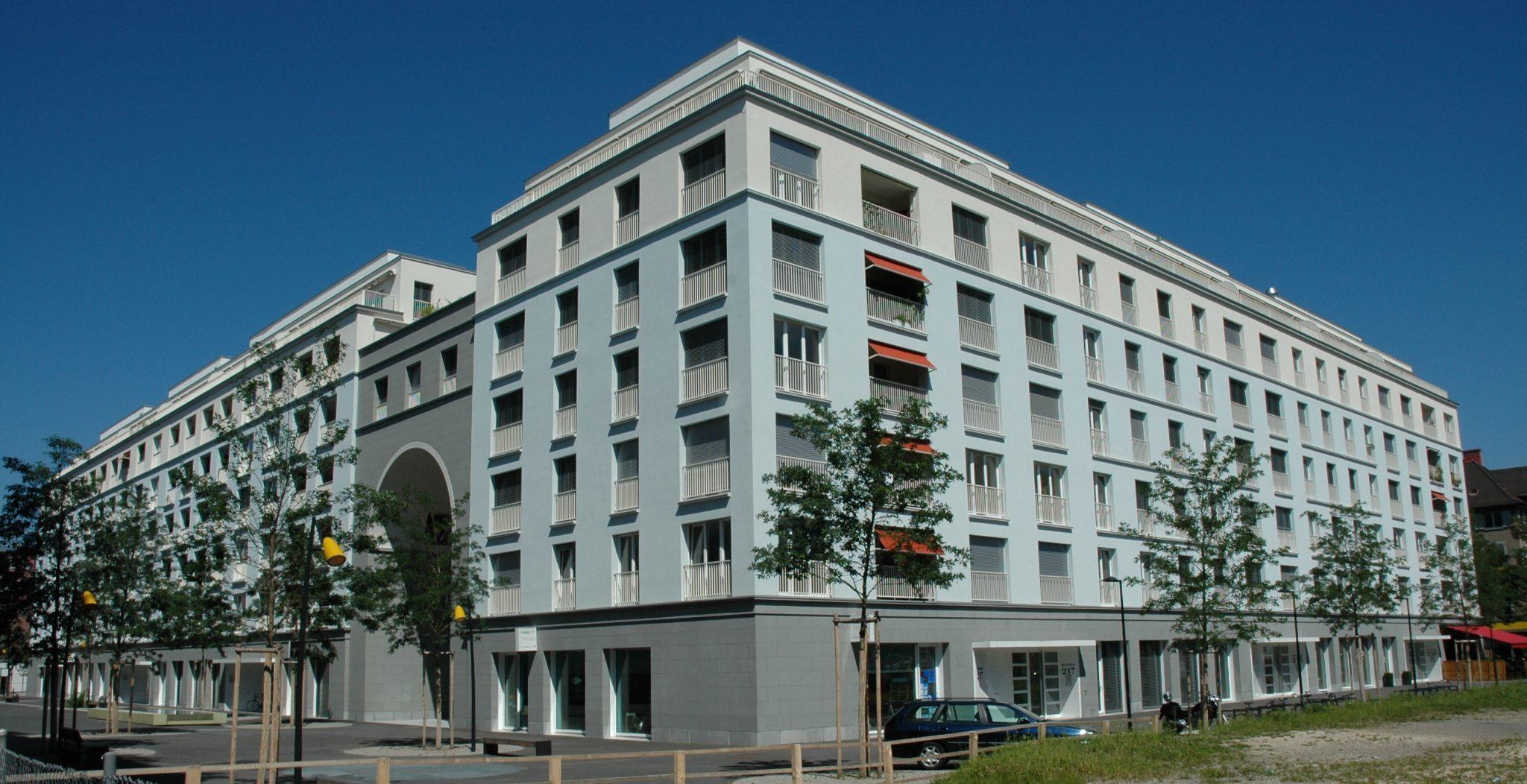 Wohnhaus Müller Martini Areal, Heinrichstrasse, Zürich