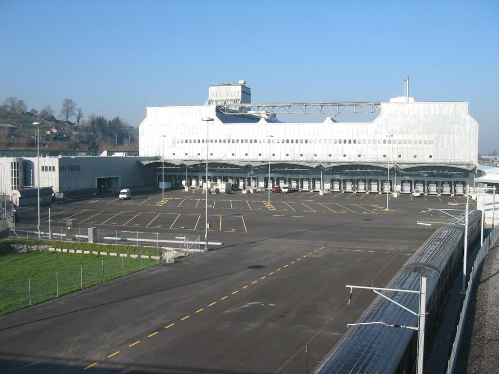 Umbau Post Briefzentrum Zürich-Mülligen