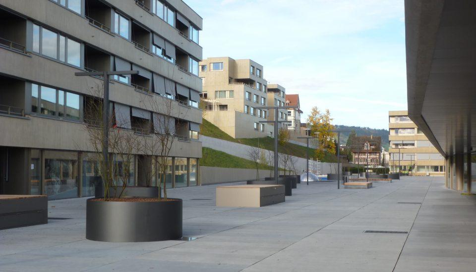 """Wohnüberbauung """"Promenade / Corona"""", Horgen"""