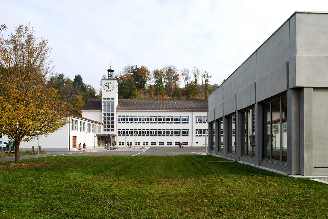 Neubau und Sanierung Schulhaus Hirsgarten, Rikon