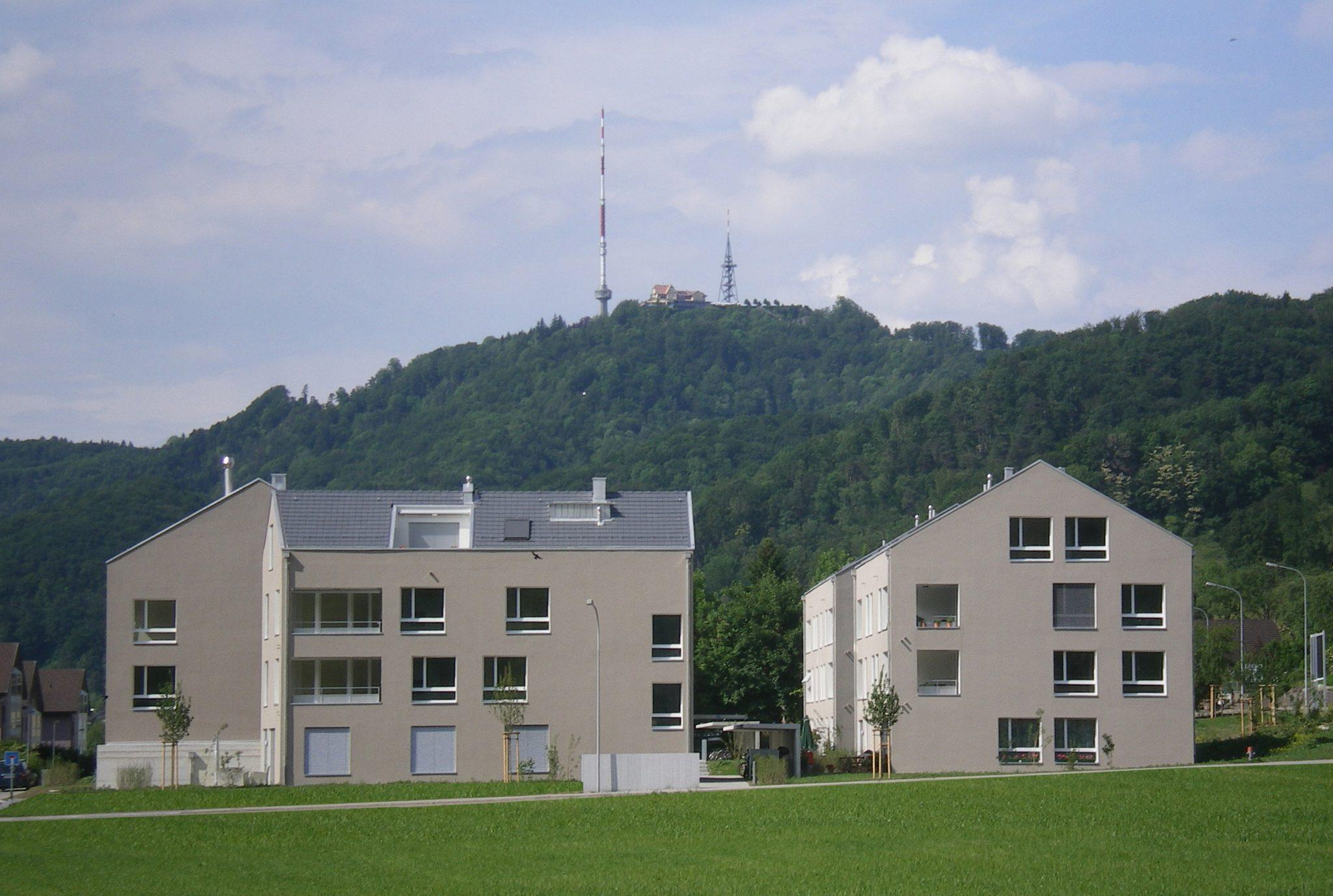 """Wohnüberbauung """"Silberbach"""", Stallikon"""