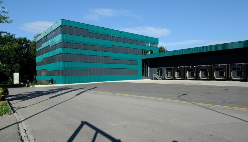 Neubau Logistik- und Verwaltungsgebäude, Urdorf