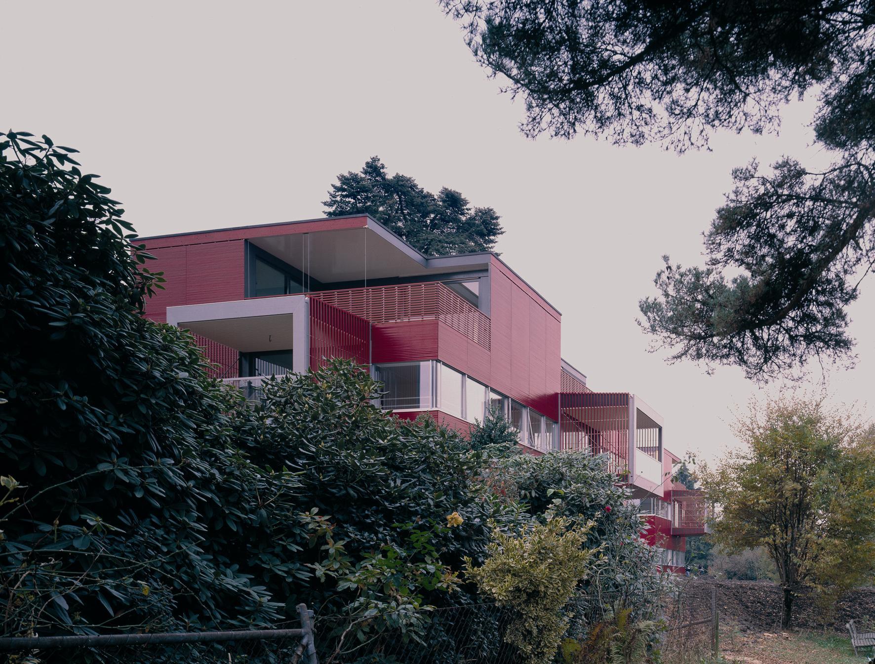 Wohnüberbauung Wehrenbachhalde, Zürich-Witikon