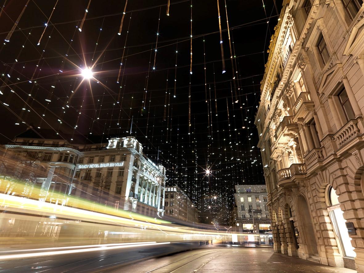 Weihnachtsbeleuchtung 2010, Bahnhofstrasse Zürich
