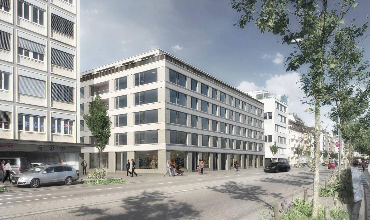 Ersatzneubau Wohnüberbauung Erikastrasse, Zürich