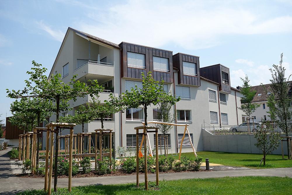 """Neubau Überbauung """"Sunnewiese"""", Islikon"""