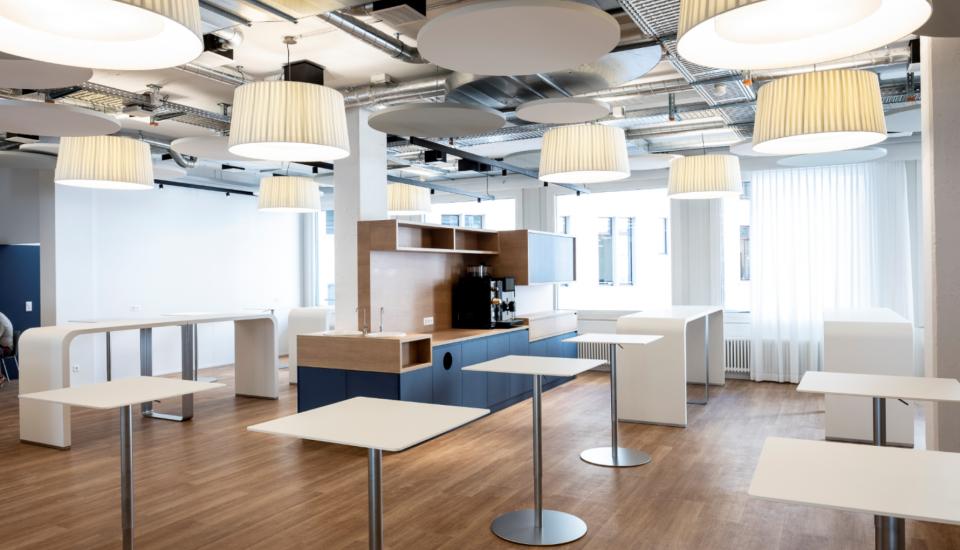 Mieterausbau Schulungs-/Büroräume und Cafeteria, Zürich