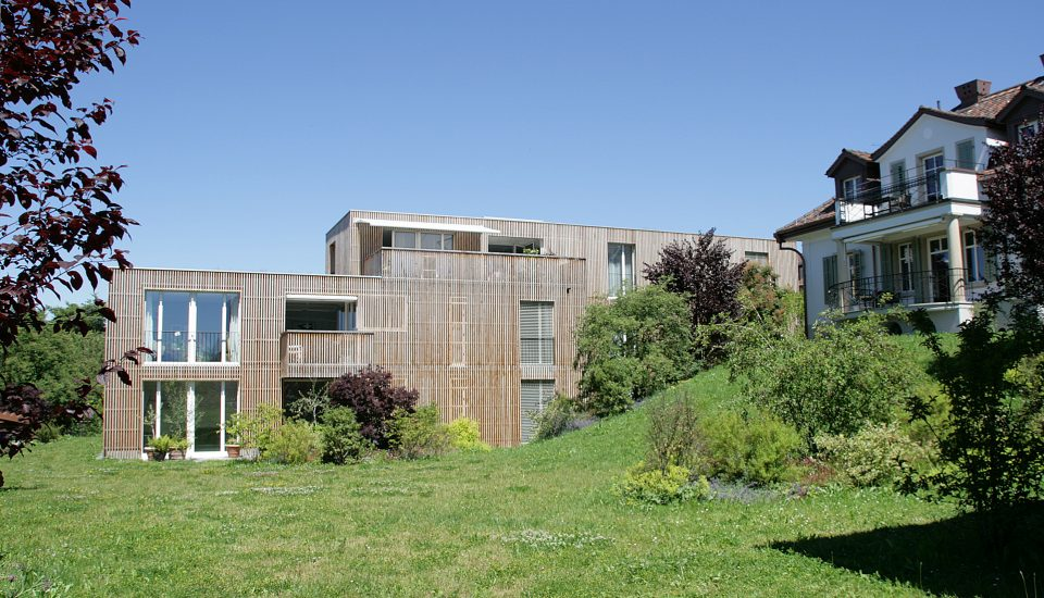 Neubau Mehrfamilienhäuser/Sanierung Villa Herrliberg