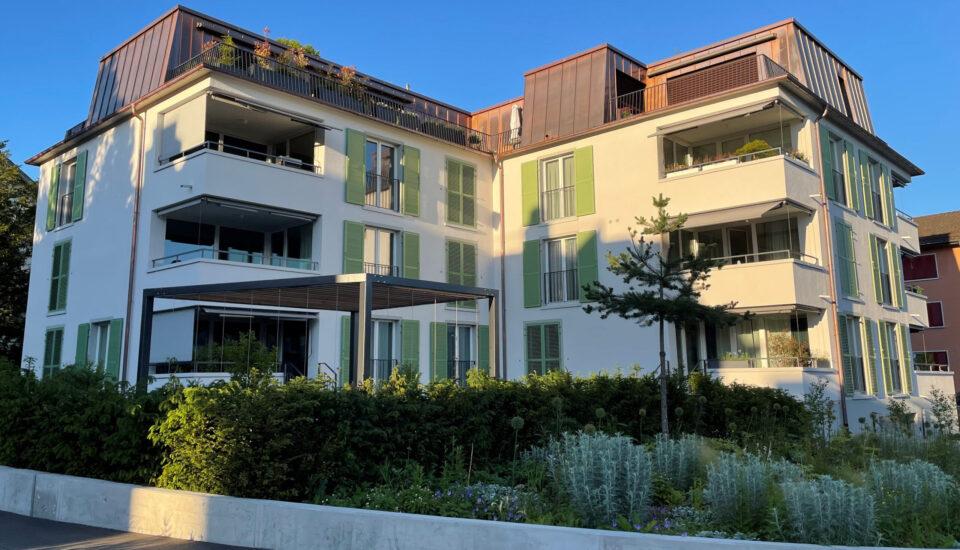 Neubau Mehrfamilinehaus, Stäfa