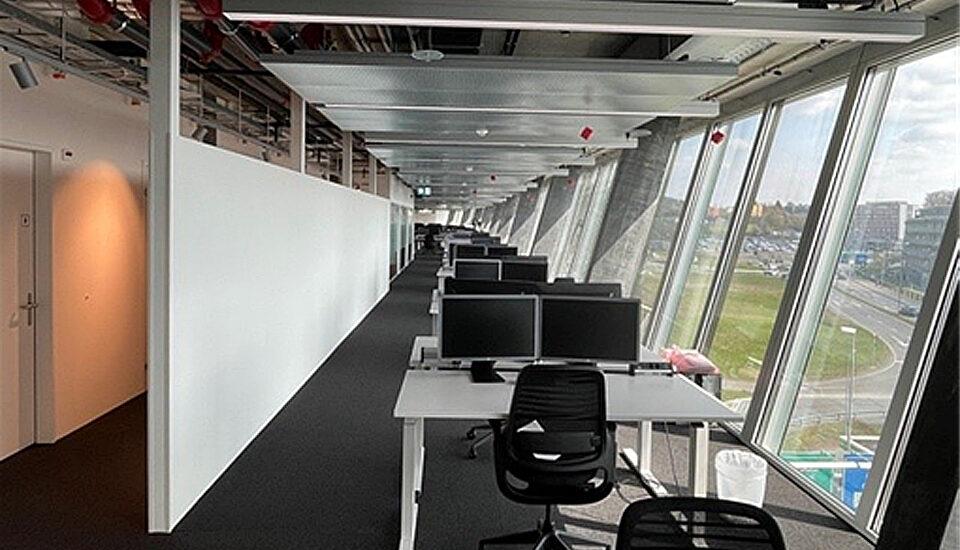 Mieterausbau Abraxas im The Circle, Zürich Flughafen